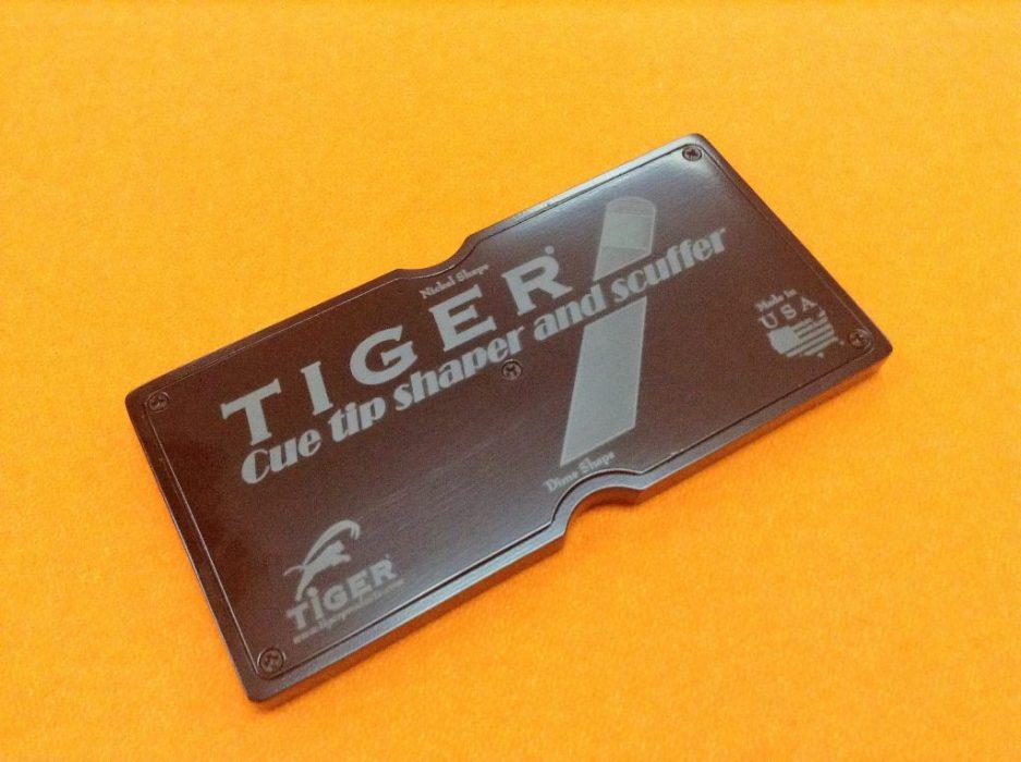 Tiger Cue Tip Shaper California Billiards Longoni